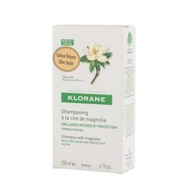 Klorane KLORANE Shampooing magnolia 200 ml - Manolya ekstreli şampuan (ışıltı veren) Renksiz